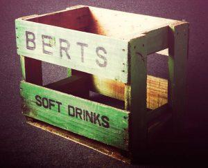 Berts green returnable crate
