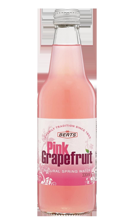Pink Grapefruit Mineral Water