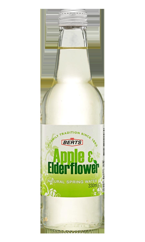 Apple & Elderflower Mineral Water