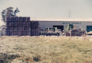 Berts Soft Drinks factory 1970's