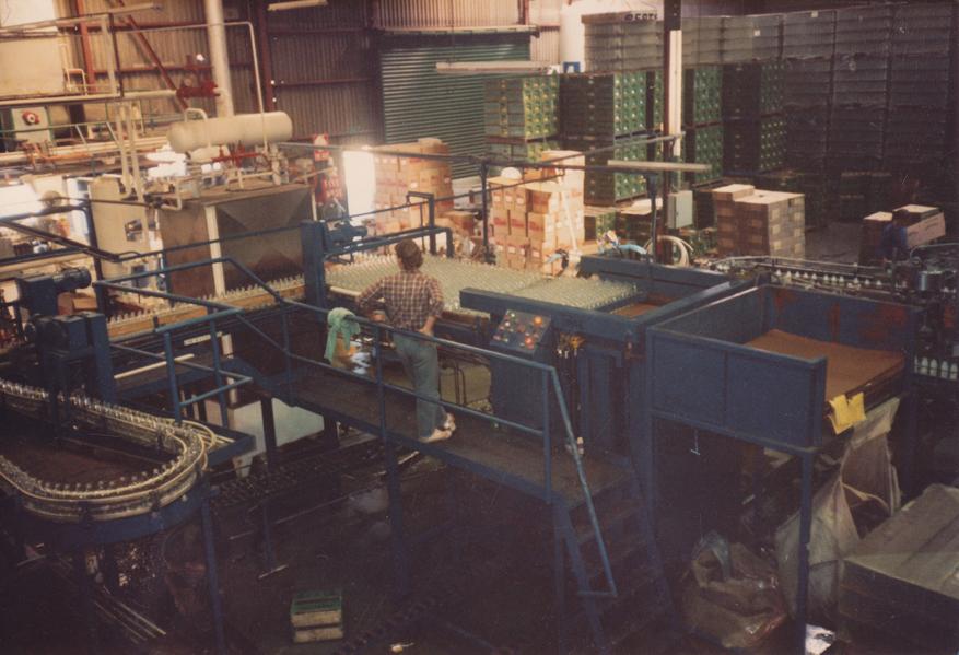 Berts Production line 1970's