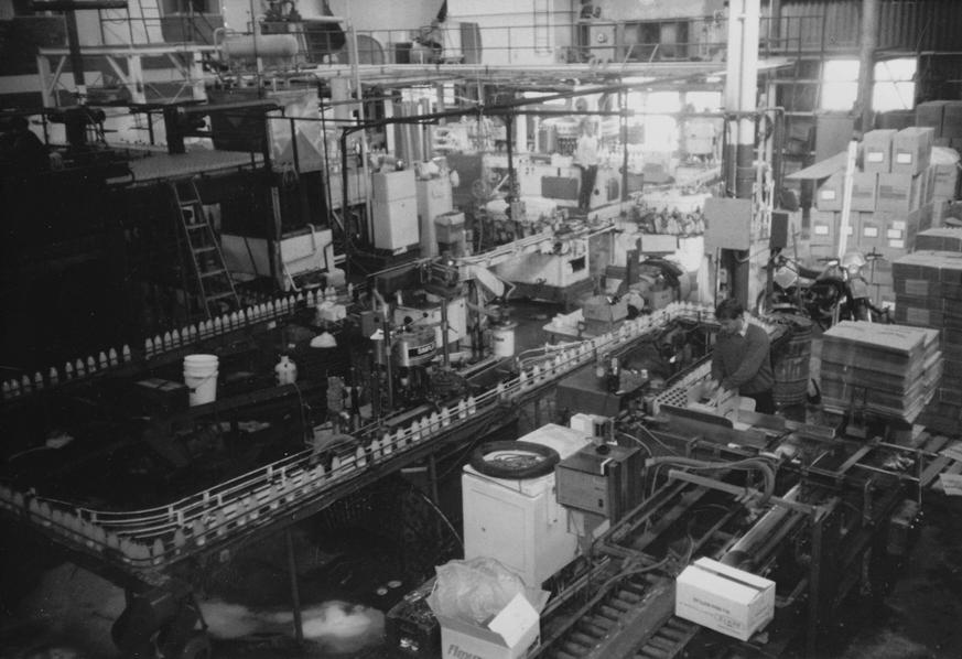 Berts production line 1980's