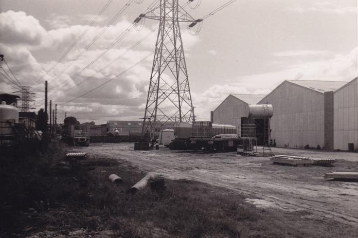Berts Factory 1960's